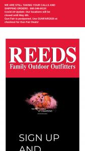 Beretta-Reeds – Sporting Gun Sweepstakes