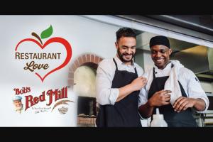 Bob's Red Mill – Restaurant Love Contest – Win (USD)