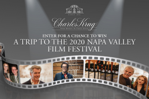Charles Krug Winery – Ticket To The Stars – Win a three (3) night trip for two (2) to NAPA Valley