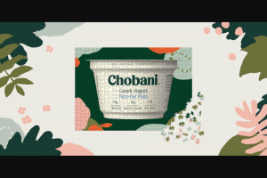 "Chobani – At Home Puzzle – Win a 19.75"" x 28"" 1000 piece puzzle"