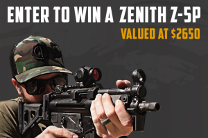 Classic Firearms – Win A Zenith Z-5p Roller Action Pistol W/ Vortex Crossfire – Win a Zenith Z-5P Roller Action Pistol w/ Vortex Crossfire approximate retail value $2650.00.