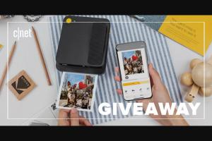 CNET – Kodak Smile Classic Giveaway – Win of one (1) Kodak Smile Classic Instant Digital Printer