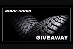 CNET – Roadshow New Tire Sweeps – Win of one Tire Rack Gift Certificate