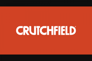 Crutchfield – Great Gear Giveaway April 2020 – Win a Crutchfield Rewards card with a retail value of $350.