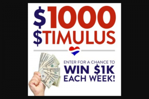 Cumulus Media – $1000 Stimulus National Contest – Win the Grand Prize