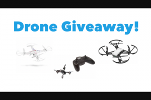 Drone Launch Academy – Rec Drones Giveaway – Win the DJI/Ryze Tello Drone Second Place Winner Will Receive the Syma X5C Third Place Winner Will Receive the Hubsan X4 On Top of That