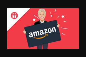 Ellen – $500 Amazon Gift Card Sweepstakes