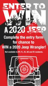 E-Z 4×4 – Win A 2020 Jeep Wrangler – Win 2020 Jeep Wrangler