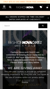 Fashion Nova And Cardi B – Cares Giveaway Sweepstakes
