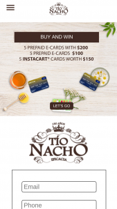 Genomma Lab – Stay At Home With Tio Nacho Sweepstakes