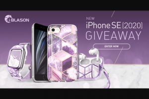 I-Blason – Iphone Se 2020 Giveaway Sweepstakes