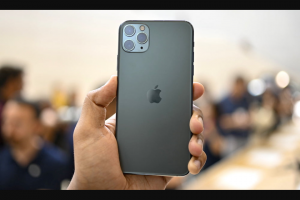 Idrop – Iphone 11 Pro Max Giveaway – Win one free unlocked 64GB iPhone 11 Pro Max an approximate retail value of $1099