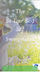 Katie Couric Media – Be Your Best Self Sweepstakes