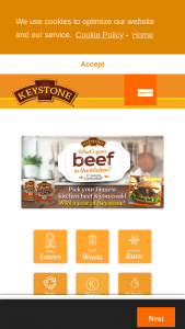 Keystone Meats – What's Your Beef In The Kitchen – Win a Keystone Meats sample pack valued at approximately $70.