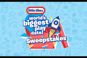 Little Tikes – World's Biggest Playdate – Win (1) My First Slide
