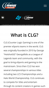 NEWEGG – Clg 10 Days Of Giveaways – Win consists of one of each of the following items (i) a mini desktop computer (ii) a CLG Flexfit hat and (iii) a NEWEGG swag bag