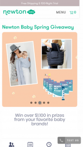 Newton Baby – Spring Giveaway Sweepstakes