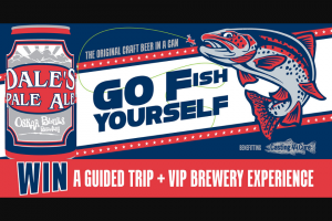 Oskar Blues Brewery – Go Fish Yourself Sweepstakes