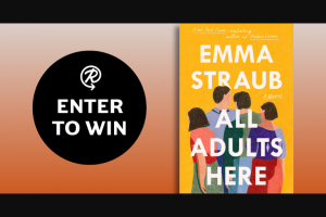Penguin Random House – All Adults Here – Win a finished copy of All Adults Here by Emma Straub