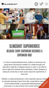 Polaris – Slingshot Superhero Contest Sweepstakes