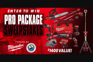 Powderhook – Milwaukee Pro Pack 2020 Sweepstakes