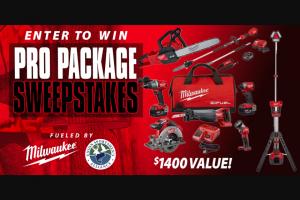 Powderhook – Milwaukee Pro Pack 2020 Sweepstakes