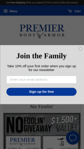 Premier Body Armor And Nine Line Apparel – April's No Foolin' Giveaway Sweepstakes