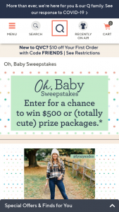 QVC – Oh Baby Sweepstakes