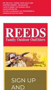 Reeds – Browning Shotgun Season Sweepstakes