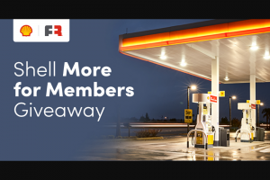 Shell – More For Members Giveaway Sweepstakes