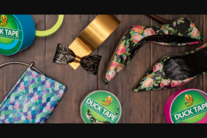 Shurtec Brands – 2020 Duck Brand Duct Tape Stuck At Prom Scholarship Contest – Win Scholarship will be awarded to the winning Finalist in the Tux Category