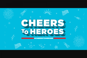 Talking Rain Beverage – Sparkling Ice Cheers To Heroes National Contest & – Win featured in the winning Nomination Submission and $500.00 to be awarded to the Nominator featured in the winning Nomination Submission