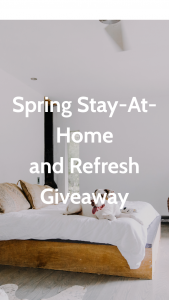 Apartment Therapy – Spring Stay-At-Home And Refresh Giveaway Sweepstakes