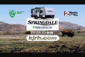 Bob Hurley – Rv Giveaway – Eastern Oklahoma – Win a new 2020 Keystone Springdale Travel Trailer