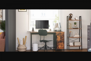 Bob Vila – 2020 Reboot Your Home Office Giveaway With Vasagle – Win one (1) prize package from VASAGLE by SONGMICS