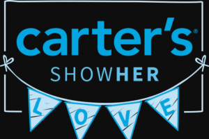 Carter's – Showher Love – Win a prize pack that includes essential baby products perfect for baby's first year valued at $630.