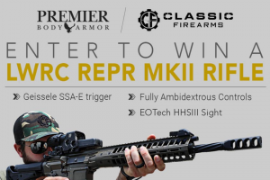 Classic Firearms – Win An Lwrc Repr Mkii Rifle W/ Eotech Hhsiii Sight – Win an LWRC REPR MKII Rifle w/ EOTech HHSIII Sight approximate retail value $5900.00.