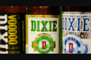 Dixie Brewing – Chillin' With Dixie – Win items