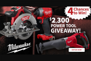 Do It Best – $2300 Milwaukee Power Tool Giveaway – Win for any reason or c) has violated the rules of the giveaway