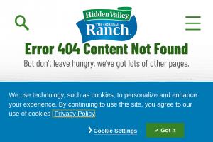 Hidden Valley – Ranchology Badge Up Challenge Sweepstakes