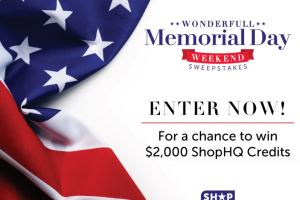 Imedia Brands – Wonderfull Memorial Weekend – Win one $2000 ShopHQ Credit