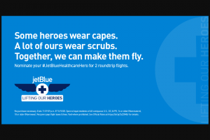 Jetblue – Healthcare Heroes – Win punitive special incidental or consequential damages and any and all rights to have damages multiplied or otherwise increased and any other damages other than for actual out-of-pocket expenses