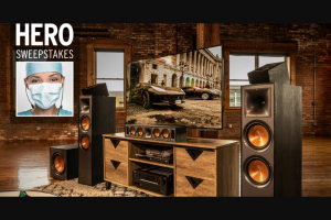 Klipsch – Hero – Win one Klipsch 7.1.2 Dolby Atmos Speaker System VRV of $2199.00.