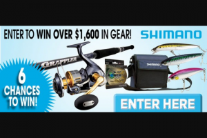 On The Water Media – Shimano $1600 Gear Package Sweepstakes