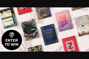 Penguin Random House – Books Set In Libraries – Win a copy of The Starless Sea by Erin Morgenstern