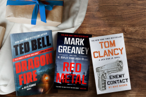 Penguin Random House – Father's Day 2020 – Win 1 Red Metal MM (Prize Approximate Retail Value $9.99) 1 Dragonfire (Prize Approximate Retail Value $28) 1 Enemy Contact (Prize Approximate Retail Value $9.99)