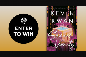 Penguin Random House – Sex And Vanity Netgalley – Win a Netgalley copy of Sex and Vanity by Kevin Kwan