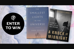 Penguin Random House – Smallest Lights In The Universe – Win Lights in the Universe by Sara Seager and A Knock at Midnight by Brittany K Barnett