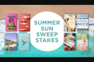 Penguin Random House – Summer Sun Sweepstakes