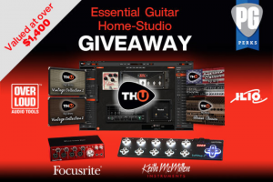 Premier Guitar – Ilio Essential Guitar Home Studio Giveaway Sweepstakes